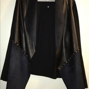 Love & Legend Jackets & Coats - Navy Blue Asymmetrical Plus Size Blazer NWOT